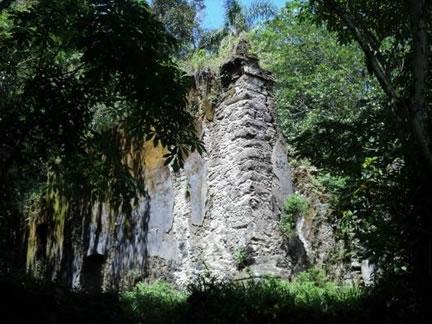 Figura 71. Ruínas da Ermida de Santo Antônio do Guaibê.