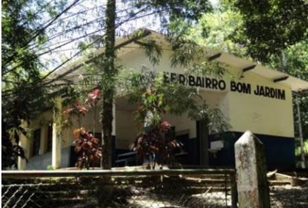 Figura 23. E.E. Bom Jardim, na Rodovia SP-061.