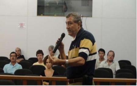 Figura 2. Discussões realizadas e momento da votação na reunião do COMDEMA.