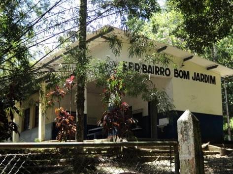 Figura 59. E.E. Bom Jardim, na Rodovia SP-061.