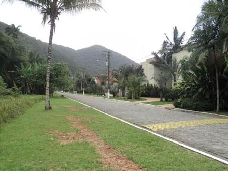 Figura 42. Via interna com acesso a residências no Loteamento Taguaíba.