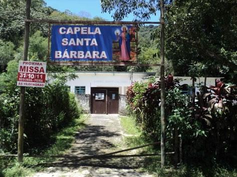 Figura 60. Capela Santa Bárbara, antiga E.E. Gabriel Bento de Oliveira.